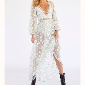 Eclair Maxi Dress - Free People - Open Back